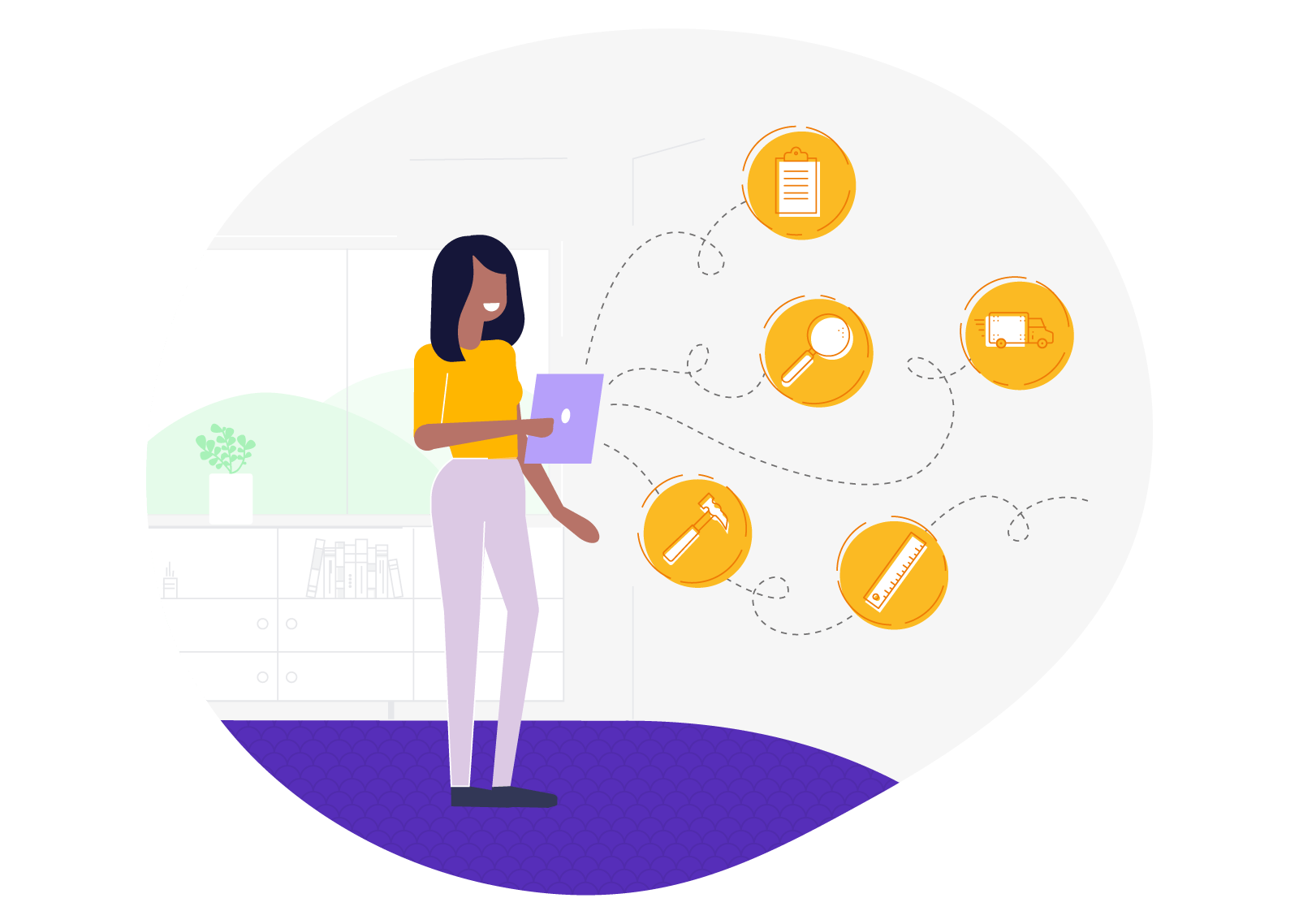 Product Management illustration