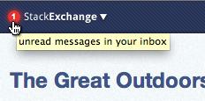 未读收件箱中的邮件