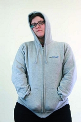 Stack Exchange Hoodie: gray