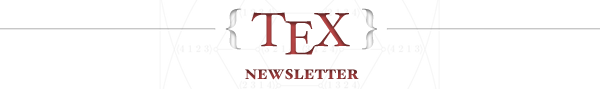TeX - LaTeX Weekly Newsletter