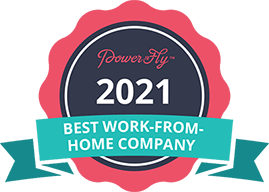 Best work from home comany 2021 - powertofly.com
