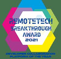 Breakthrough Awards Winner | Developer Collaboration Platform of the Year 2021
