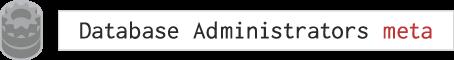 Database Administrators Meta