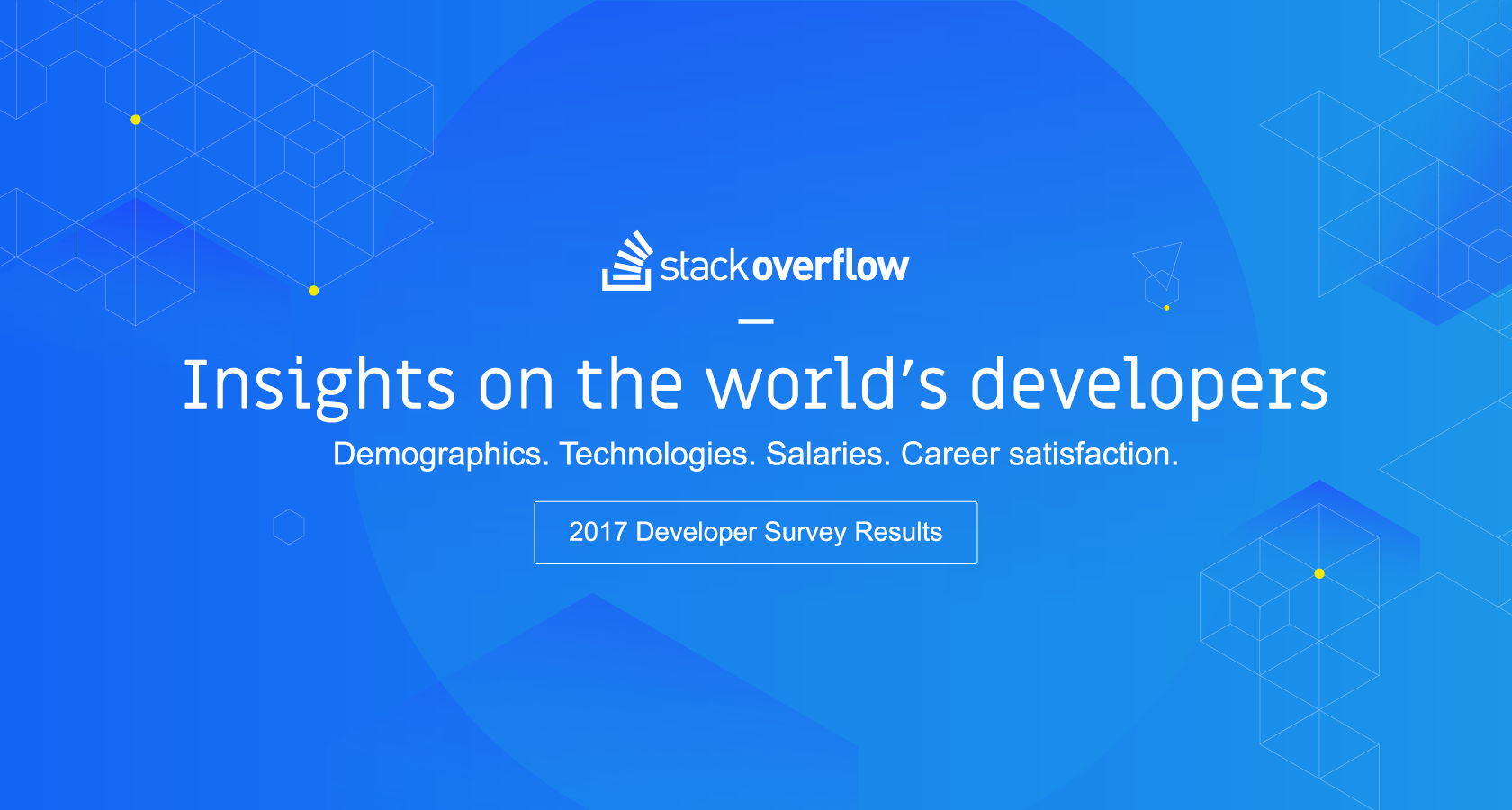 Stack Overflow Developer Survey 2017